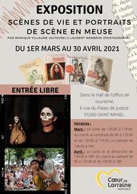 EXPOSITION SCÈNES DE VIE ET PORTRAITS DE SCÈNE EN MEUSE