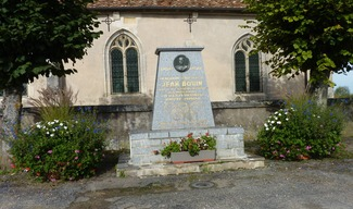 STÈLE DE JEAN BOUIN - Bouconville-sur-Madt