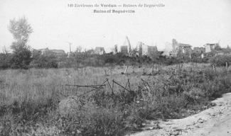 VESTIGE DU VILLAGE DÉTRUIT DE REGNIEVILLE - Thiaucourt-Regniéville