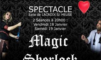 SPECTACLE : MAGIC SHERLOCK - Lacroix-sur-Meuse